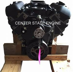 New 4 3l  V6 Vortec Gm Marine Base Engine W   Intake