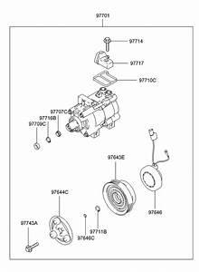 2001 Hyundai Accent Alternator