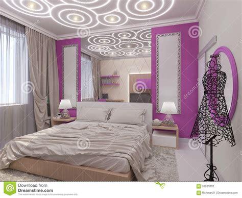 chambre pour 3 filles illustration 3d d 39 une chambre à coucher pour la