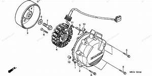 Honda Motorcycle 1999 Oem Parts Diagram For Alternator