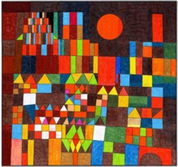 paul klee sun mural  art projects  kids teachers