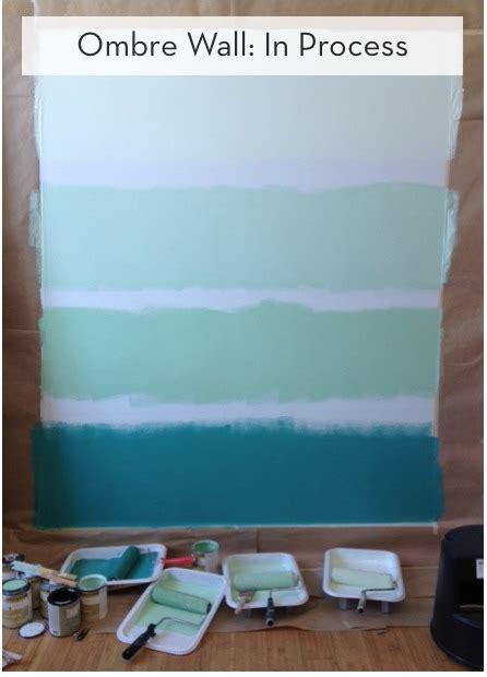 paint  ombre wall curbly diy design decor
