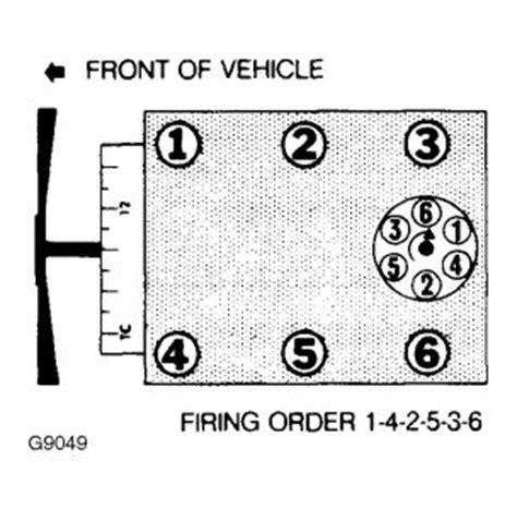 ford ranger firing order    firing order