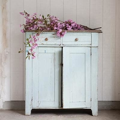 Rachel Ashwell Shabby Chic Couture  Pale Green Cabinet Sold