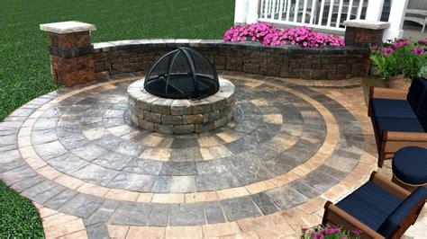 circular paver patio kit special pit patio kit enchanted gardens landscaping