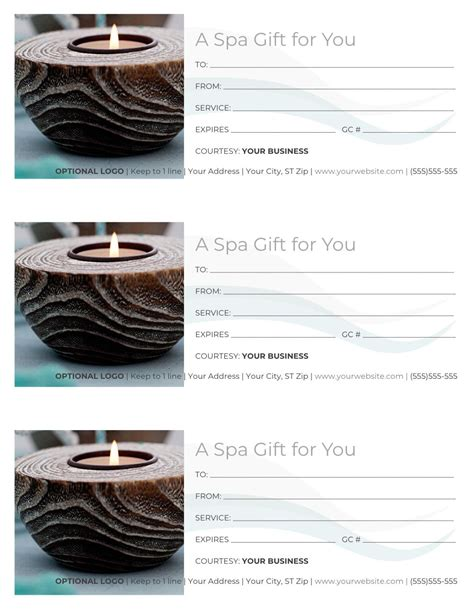 · massage gift certificate template : Printable Gift Cards Templetes Massage Therapist : Massage Gift Certificate Templates Gift ...