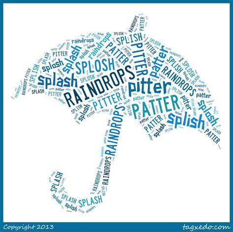 rain shape poem literacy pinterest fonts shape