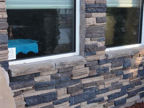 install stone veneer   front   house