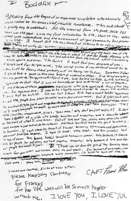Lettere Di Suicidi by File Kurtcobainsuicidenote Jpg Wikimedia Commons