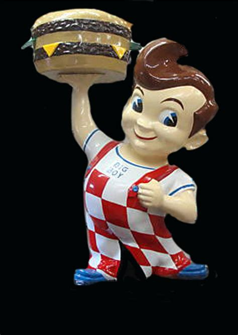 Iconic 1950s-60s Big Boy Restaurant three-dimensional ...