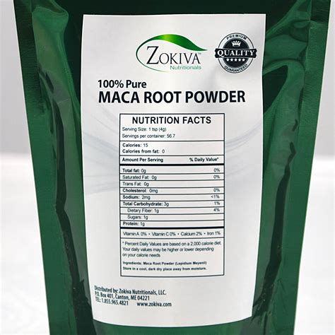Maca Root Powder 6 Unit Case