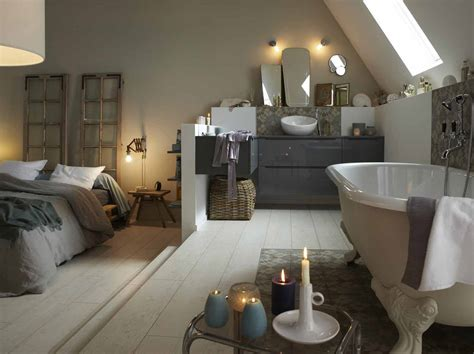 dans la chambre davaus idee salle de bain dans une chambre avec