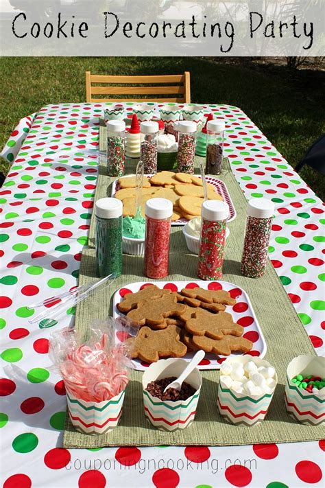 host a christmas ornament making party tobins tastes cookie decorating easy entertaining with nestle