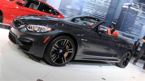 Bmw Neuheiten Ny Auto Show 2015 by 2015 Bmw M4 Convertible Priced From 73 425 Live Photos