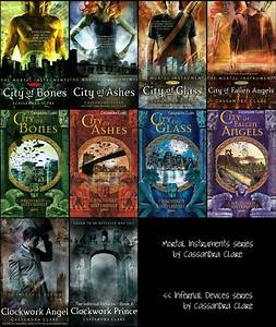 Mortal Instruments and Infernal Devices series by ...