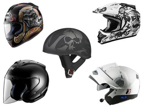 Tipos De Capacetes Para Motociclistas