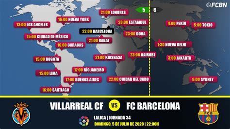Villarreal vs FC Barcelona en TV: Cuándo y dónde ver el ...