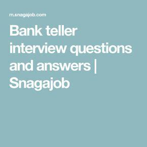 Bank Teller Questions And Answers Exles by Best 20 Bank Teller Ideas On