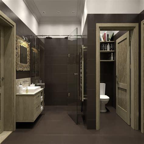 home toilet design separate wc interior design ideas