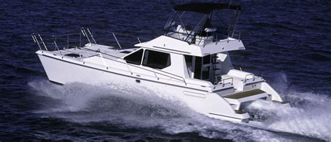 Trailerable Saltwater Fishing Boats by Multi Hull Catamaran Trimaran Buyers Guide Discover