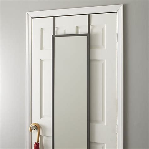 how to hang a bathroom mirror on drywall the door mirror reviews crate and barrel 26372