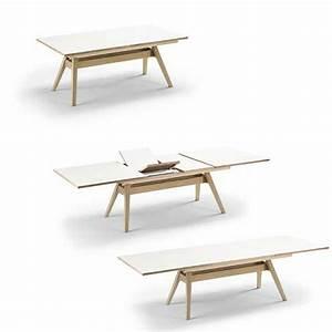 Table à Manger Scandinave Extensible : table a manger scandinave ~ Teatrodelosmanantiales.com Idées de Décoration