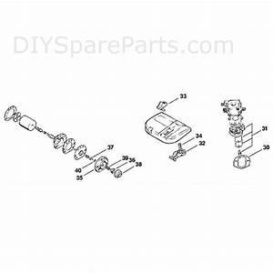 Stihl 009 Chainsaw  009  Parts Diagram  C