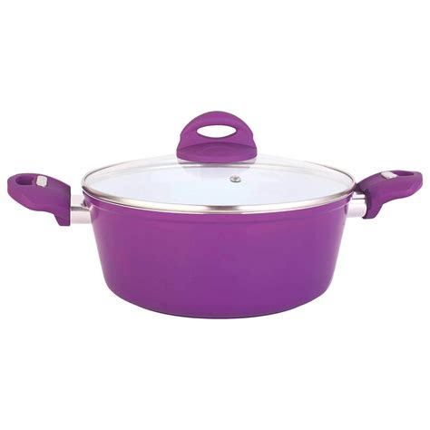 equipped forged aluminum sauce pot  healthy ceramic coating