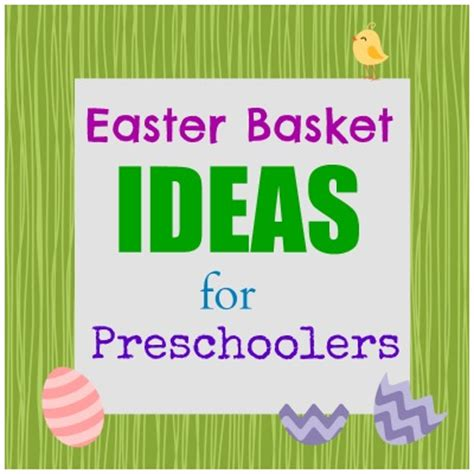 easter basket ideas for preschoolers a crafty spoonful 915 | Easter Basket Ideas for Preschoolers