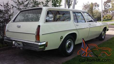 holden hx station wagon  original country car  suit