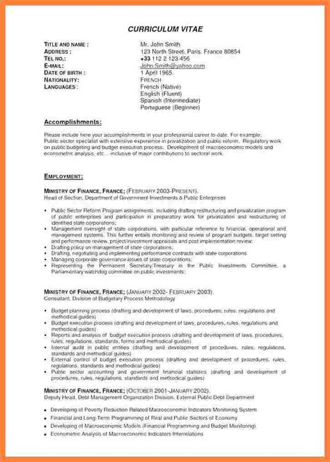 Proffessional Resume by 7 Best Resume Format For Experienced Professionals