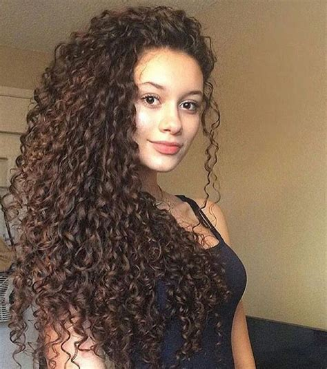 long curly hair ideas  pinterest natural