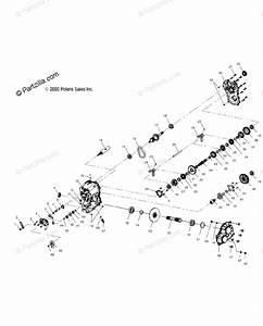 Polaris Atv 2004 Oem Parts Diagram For Gearcase   Fc