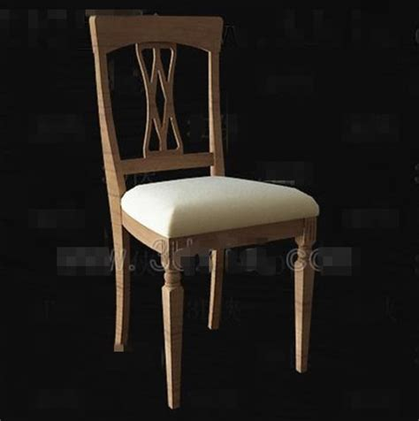 chaise chinoise pr sident 3d t l chargement gratuit 3d model