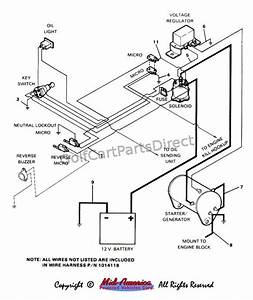 Golf Cart Wiring Diagram Pdf