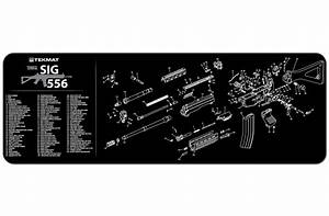 Sig Sauer 556 Rifle Tekmat Gun Cleaning Mat 12 U0026quot X36 U0026quot  W Parts Diagram 36
