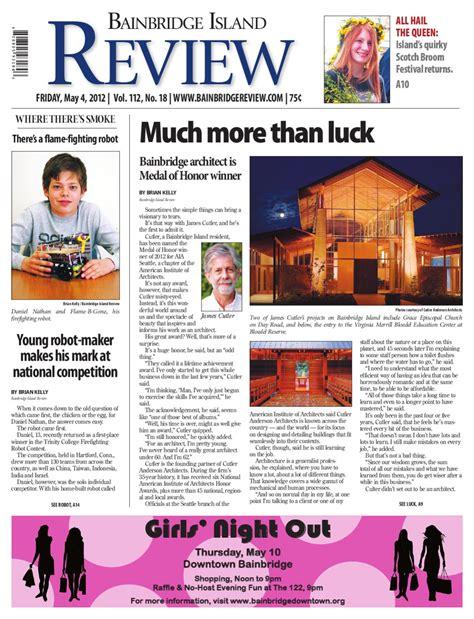 Bainbridge Island Review May 04 2012 by Sound Publishing