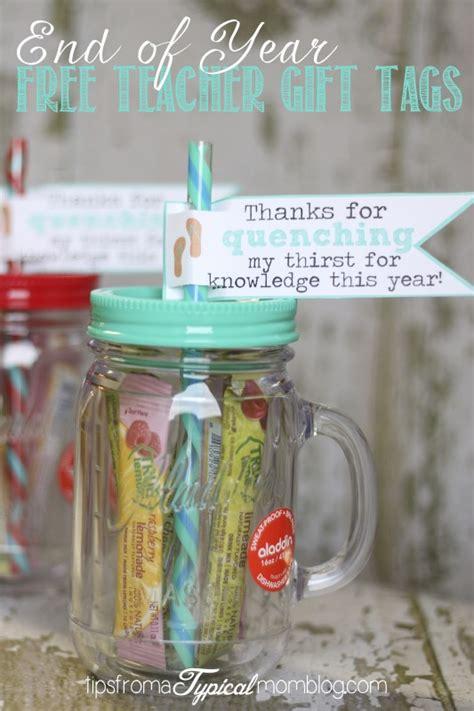 year gift tag printables  teachers