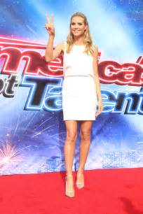 Heidi Klum Americas Got Talent Judges Photocall