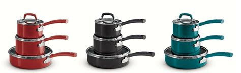 tramontina pc stackable cookware set  colors
