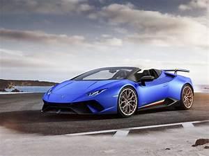 Desktop Wallpaper Lamborghini Hurac U00e1n  2018  Speedster