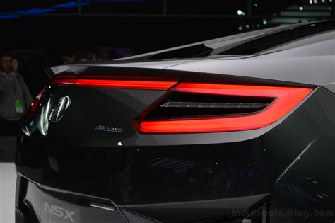 2013 Acura NSX Concept tail light
