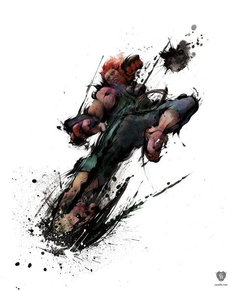 Artwork Akuma Street Fighter Iv Capcom