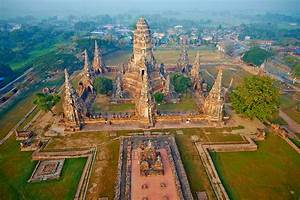 Thailand  Ayutthaya  Ayutthaya Historical Park  Wat Chai Wattanaram
