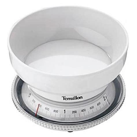 balance de cuisine pro terraillon balance de cuisine mécanique t205 blanche