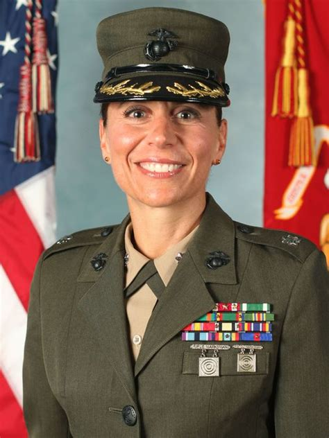 female marine officer fired  holding female recruits