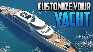 GTA 5 Online Customize Your SUPER YACHT Change Color