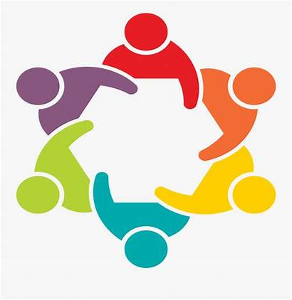 Teamwork Clipart Help Circle Community Icon Together