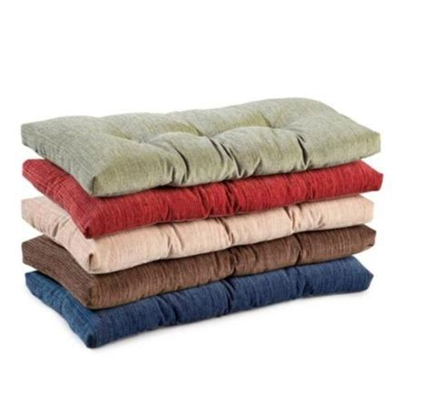 indoor bench cushions indoor dining kitchen tufted non slip bench cushion pad 36