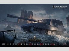 February Wallpaper & Calendar News World of Tanks
